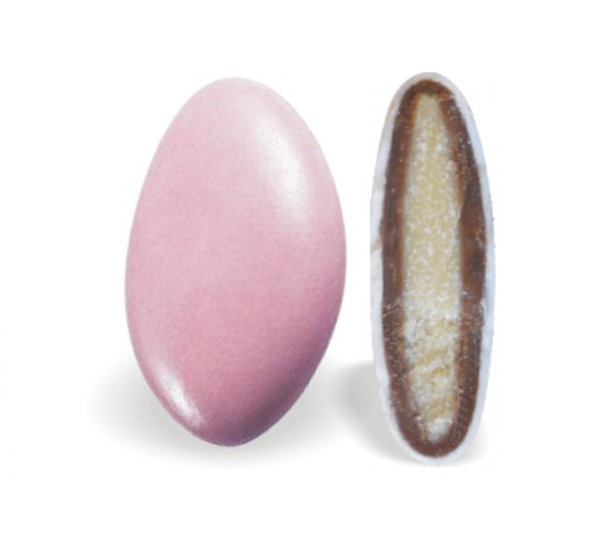 Κουφέτο με Διπλή Σοκολάτα Ροζ 200-210τεμ