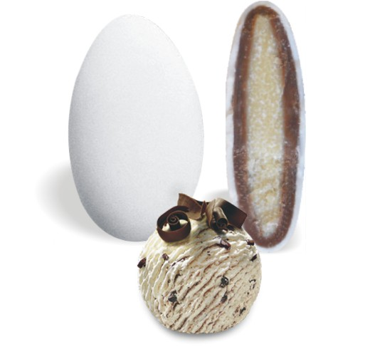 Κουφέτο με Διπλή Σοκολάτα και Straciatella 200-210τεμ