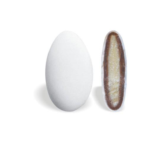 Κουφέτο με Διπλή Σοκολάτα Mini Λευκό 450-480τεμ