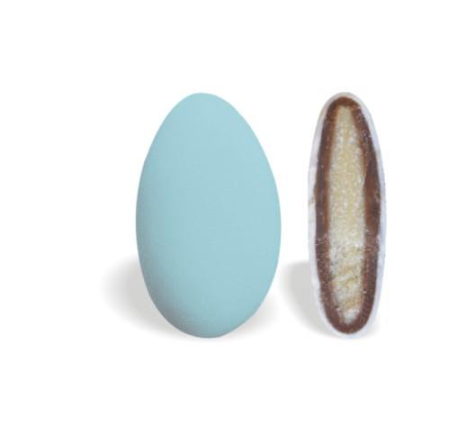 Κουφέτο με Διπλή Σοκολάτα Mini Γαλάζιο 450-480τεμ