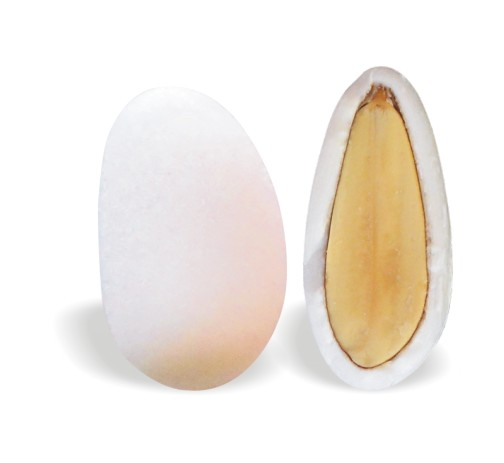 Λευκό Κουφέτο Αμυγδάλου Κλασσικό 260-280τεμ